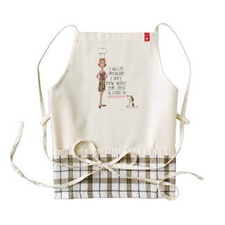 what the heck zazzle heart apron