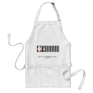 What the HELL is wrong with me? Adult Apron