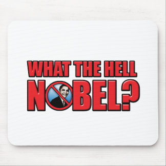 What the Hell Nobel? Mouse Pad