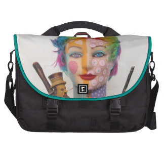 What The Hell Was She Smokin Laptop Commuter Bag