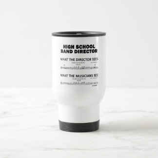 What the High School Band Sees Travel Mug