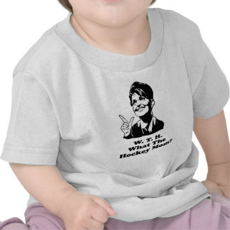 What the Hockey Mom Tee Shirt