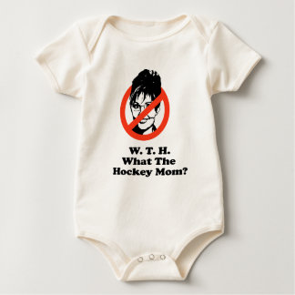 What the Hockey Mom Baby Bodysuits