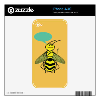 What the Honey Bee said Decal For The iPhone 4S
