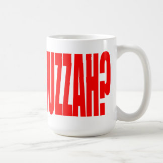 What the Huzzah? Mug