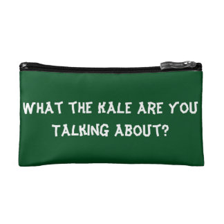 What the Kale are You Talking About? - Makeup bag