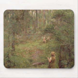 What the Little Girl Saw in the Bush, 1904 Mouse Pad