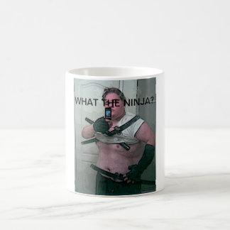 ...what the ninja? coffee mug