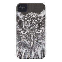 what the owl sees iPhone 4 Case-Mate case