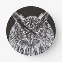 what the owl sees round clock
