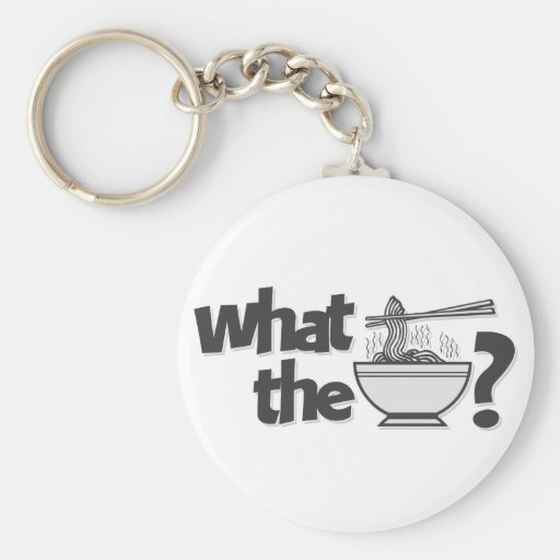 What the Pho? Key Chain
