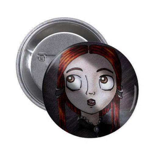 What the Portraits See Pinback Button