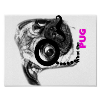 What the pug poster