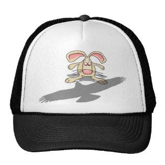 What the...? Rabbit Cartoon Cap Trucker Hat