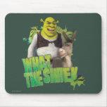 What The Shrek Mousepads