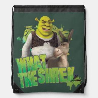 What The Shrek Drawstring Backpack