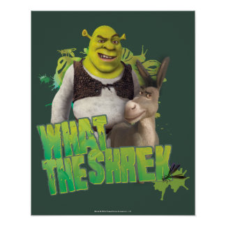 What The Shrek Poster