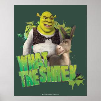 What The Shrek Print