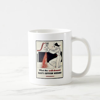 What The Well Dressed Navy Cutter Wears! Mugs