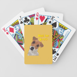What the Woof? Bicycle Playing Cards
