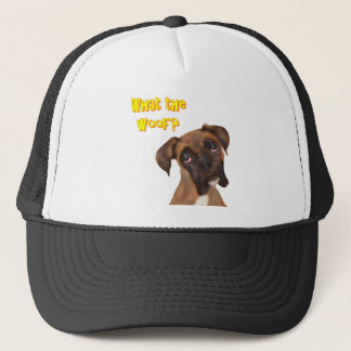 What the Woof? Trucker Hat