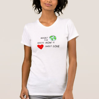 WHAT THE WORLD NEEDS NOW IS LOVE T-SHIRT