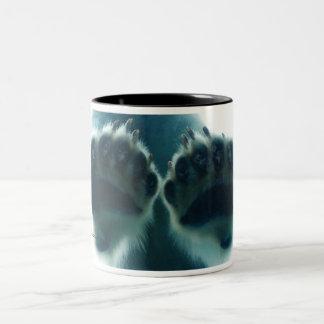 What They Saw Beneath the Ice Two-Tone Coffee Mug