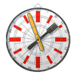 What Time Is It Fork And Knife Kitchen Clock Dart Boards