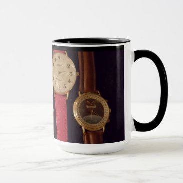 Professional Business What Time Is It -watches 15 oz Ringer Mug