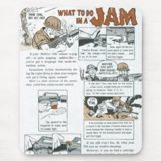 What to do in a Jam Mouse Pad