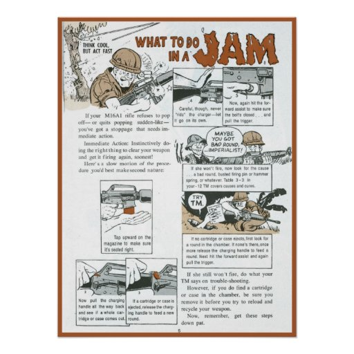 What to do in a Jam Print