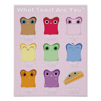 What Toast Are You? Poster