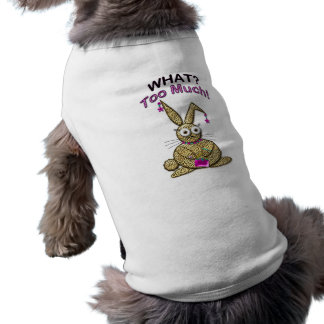 WHAT? TOO MUCH! DOGGIE SWEATER SHIRT