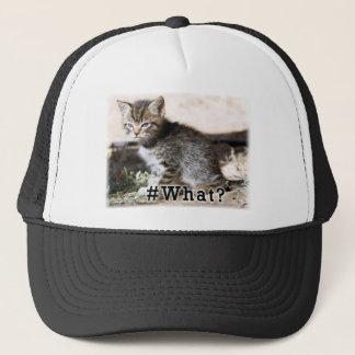 #What Trucker Hat