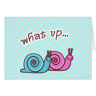 WHAT UP SPEEDO & SPAGO CARD
