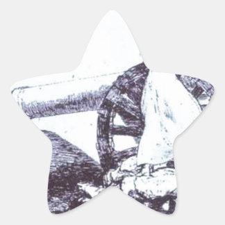What value? by Francisco Goya Star Sticker