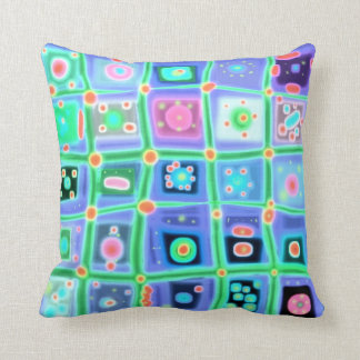 What Was She Thinking Art Pillow