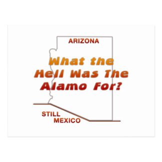 What Was The Alamo For? Postcard