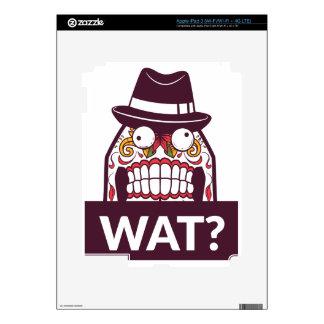 what wat scary teeth design iPad 3 decal