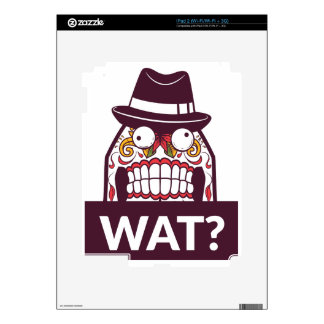 what wat scary teeth design skins for iPad 2