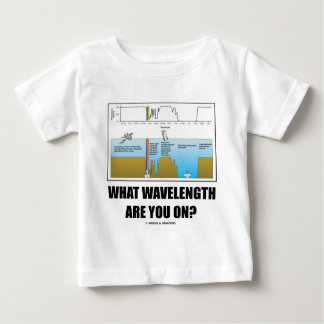What Wavelength Are You On? (Electromagnetism) T-shirts