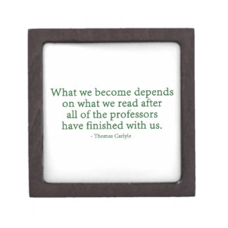 What We Become Depends On What We Read Premium Gift Box