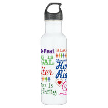 What We Believe Water Bottle