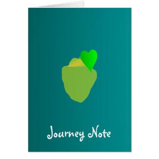 What we focus on we'll taste greeting card