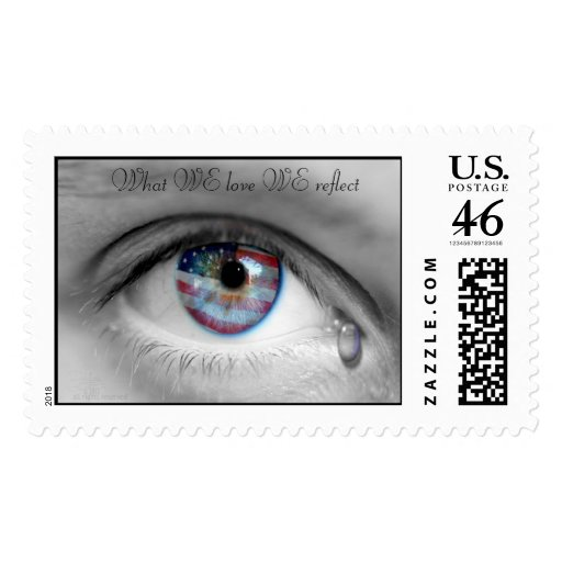 What WE Love WE reflect stamps