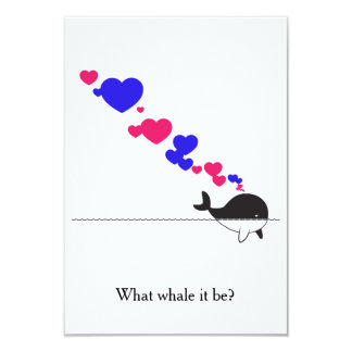 What whale it be? card