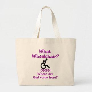 What Wheelchair Canvas Bag