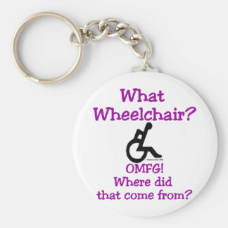 What Wheelchair Keychain