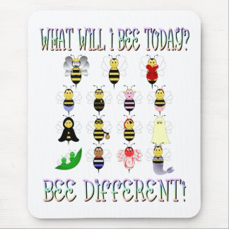 What Will I Bee Today Mousepad