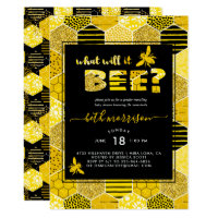 What Will It BEE | Gender Reveal Party Invitation